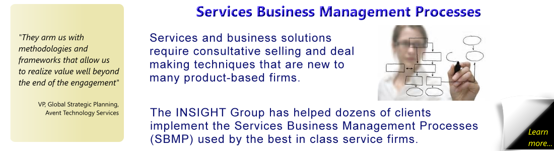 Services Business Management Processes